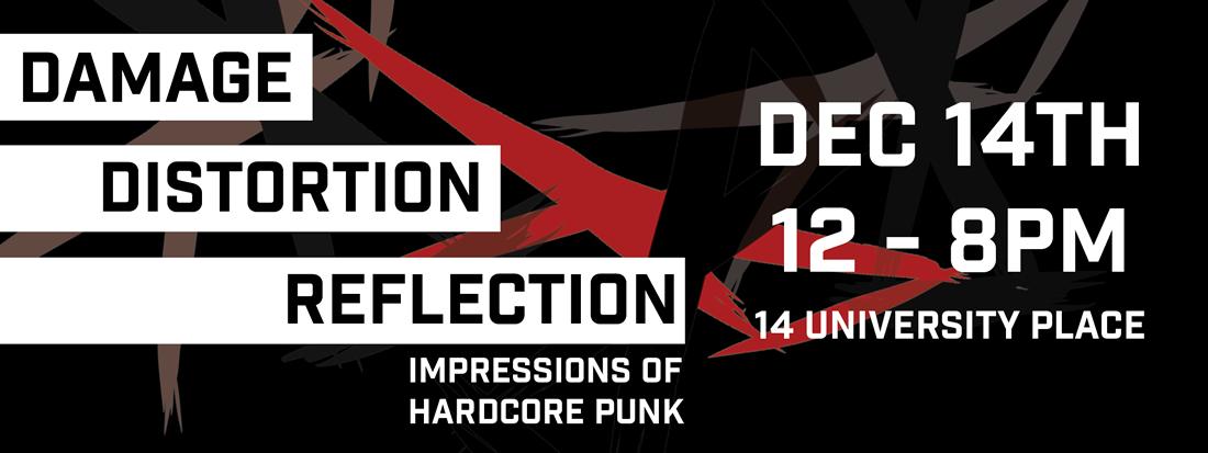 Damage..Distortion..Reflection Logo
